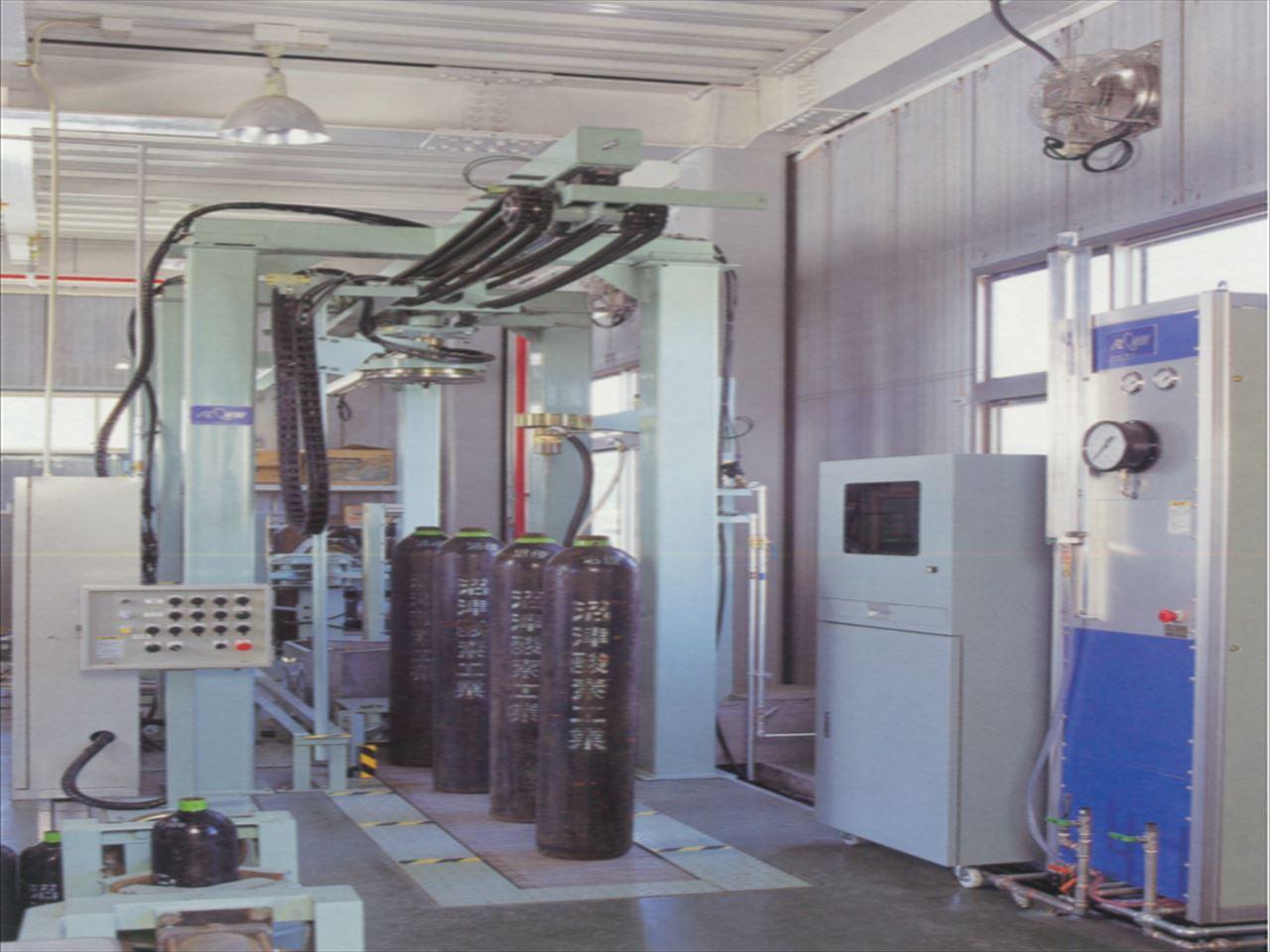 全自動耐圧検査機
